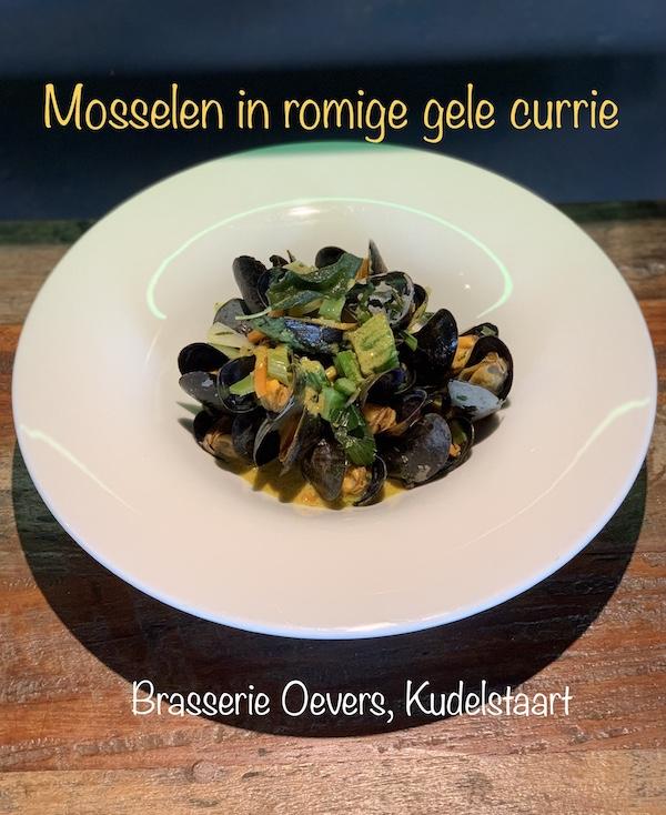 Mosselen · romige gele currie